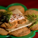 Ice Box Cheese Crackers
