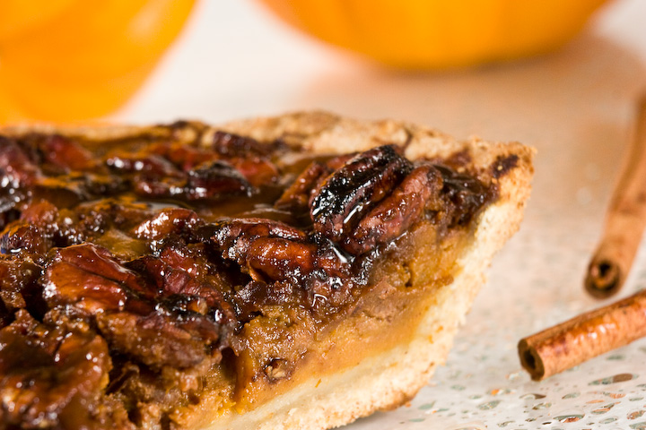 Pumpkin Pecan Pie | Blog of Joy
