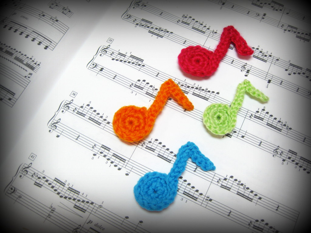 Crochet Musical Notes