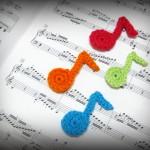 Crochet Musical Notes