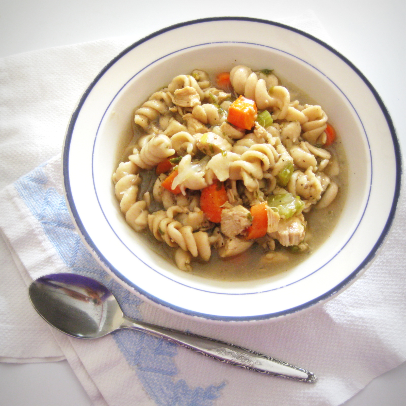 Warm, soothing, and delicious--this Chicken Noodle Soup is perfect for cold winter nights.