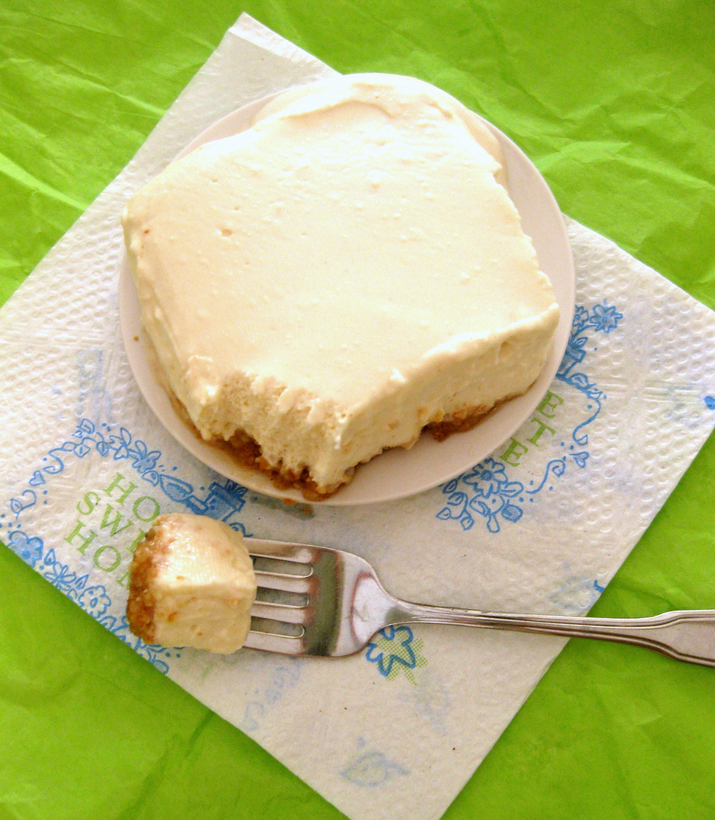 Thankfulness #1,874: Light Lemon Cheesecake