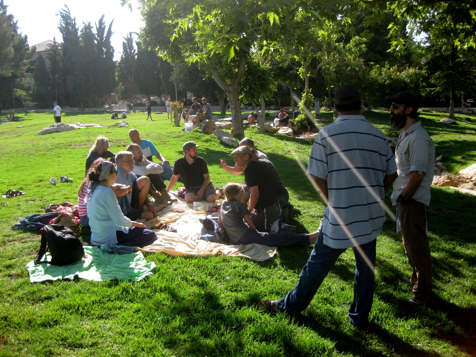 Independence Park in Jerusalem (6/14)