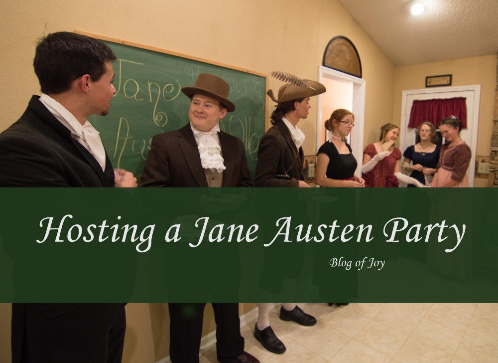 Hosting a Jane Austen Party