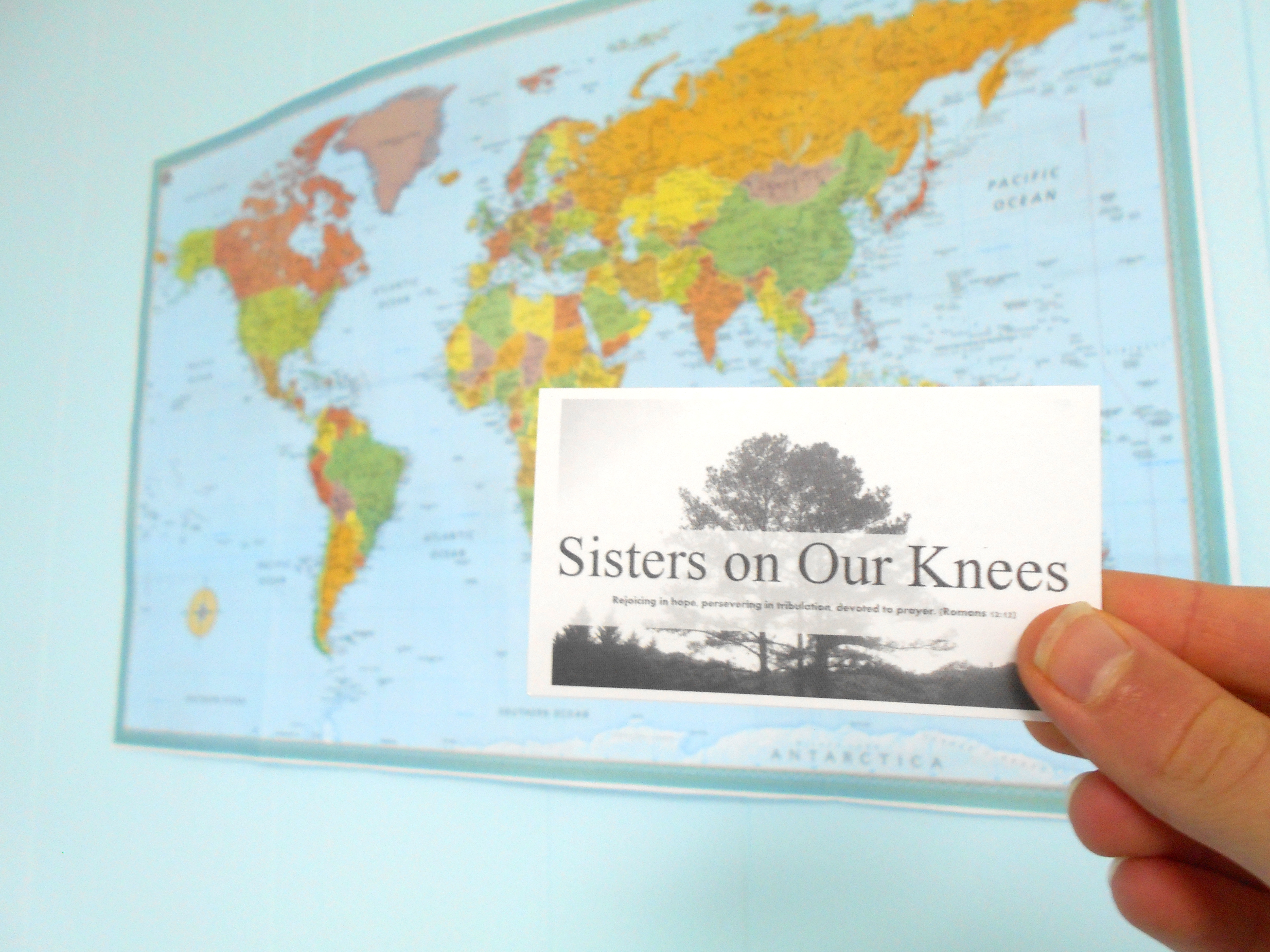 "Announcing ""Sisters on Our Knees"""